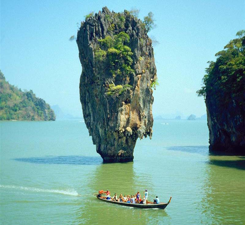 This gravity-defying, karst formation was featured in the James Bond ...